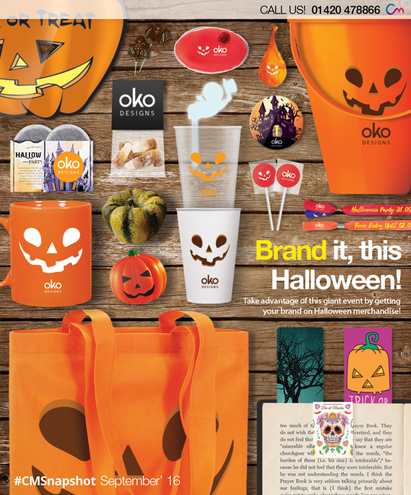Halloween Merchandise – Boost Brand Awareness Now!