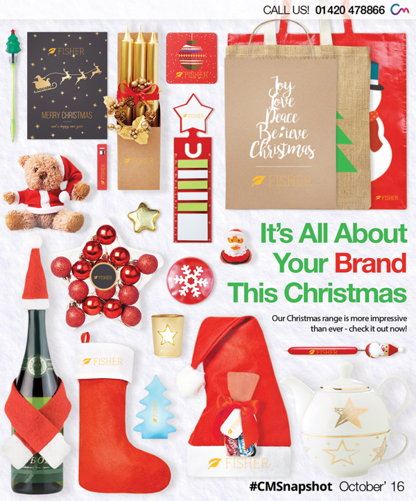 Christmas Merchandise – Branding the Business Boom!