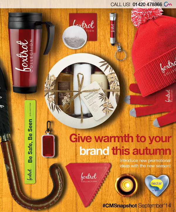 Promotional Product Ideas for Autumn/Winter 2014