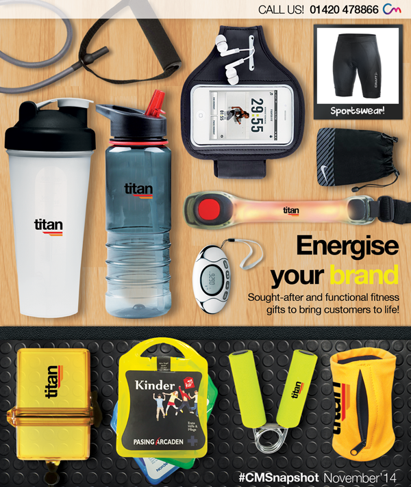 Health and Fitness Promotional Ideas 2014/2015