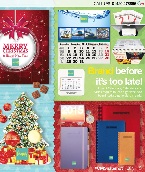 Pre-Order Your Diaries, Calendars & Advent Calendars – Before It's Too Late!