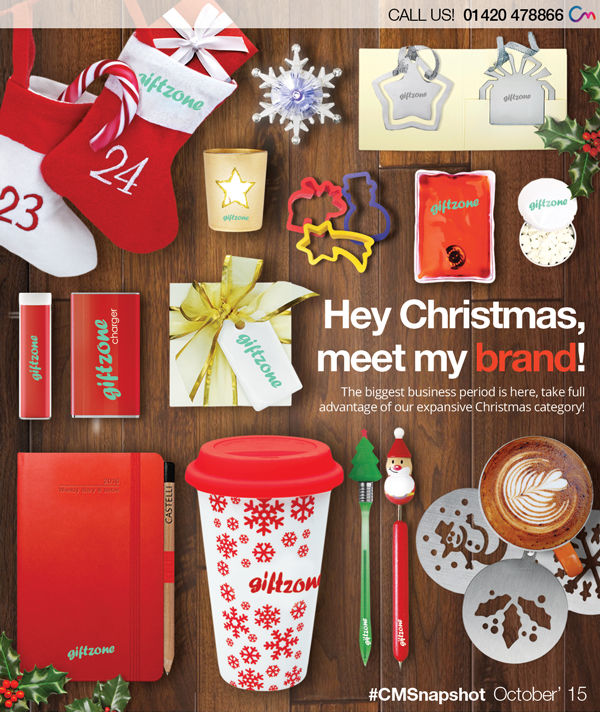 Promotional Christmas Merchandise 2015