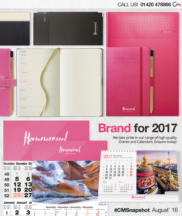 Promotional Diaries and Calendars – Get Your Business Seen All Year Round