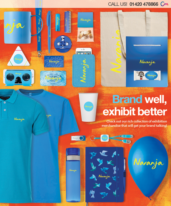 Promotional Exhibition Merchandise – How do I Exhibit like the Big Players?