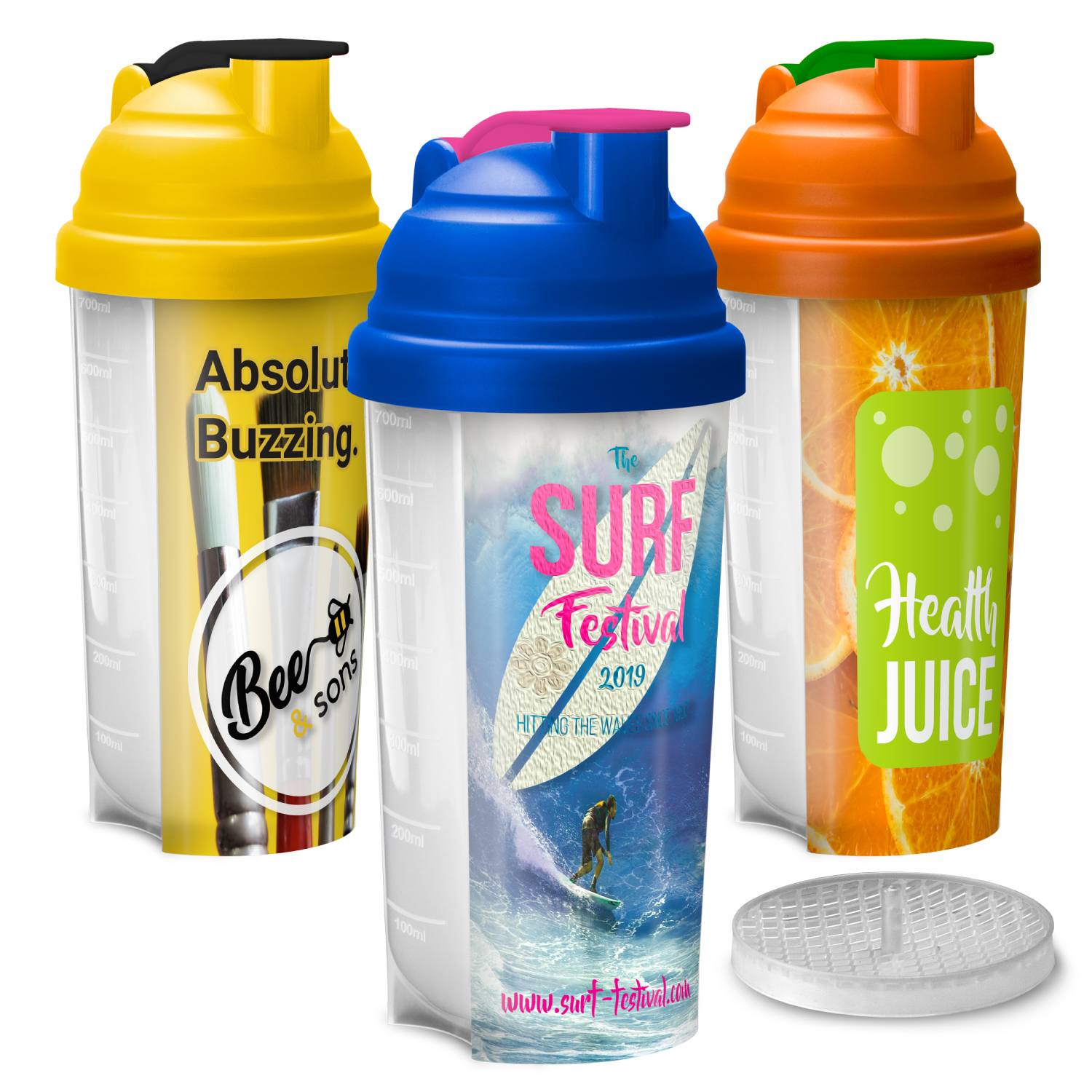 New Shakermate – Full Colour Branded Protein Shaker