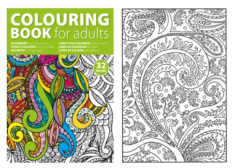 Promotional Adult Colouring Books Complete Merchandise Blog