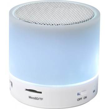 promotional abs wireless speaker with changing colours IME-8564