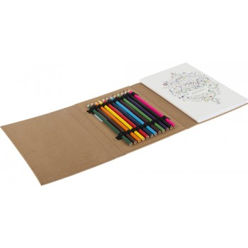 promotional colouring folder for adults IME-8670
