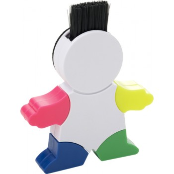 promotional figure shaped abs highlighter IME-8535