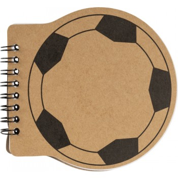 promotional football shaped notebook IME-8584