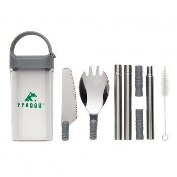 promotional pocketsize reusable cutlery set on the go XIN-P269.542