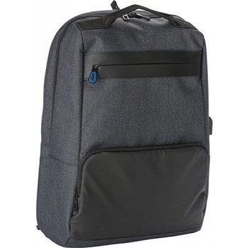 promotional pvc backpack with anti theft back pocket. IME-8996