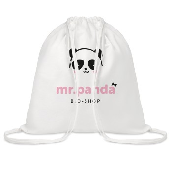 promotional tribe bamboo cotton drawstring bags MOB-MO9649