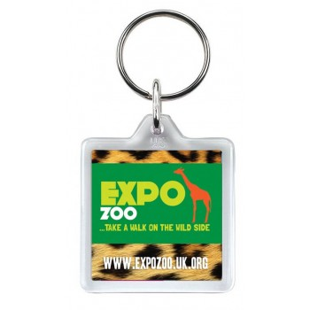 promotional u1 square keyrings SEU-KY0014