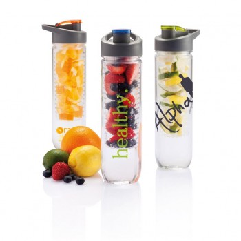 promotional water bottle with infuser XIN-P436.055