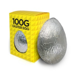 promotional 100g chocolate easter egg BIT-M11761-S