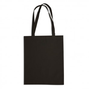 promotional 10oz black cotton canvas bags BAT-CAN2B