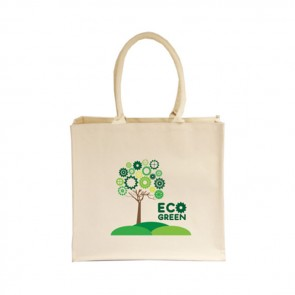 promotional 10oz canvas laminated bags BAT-CAN10