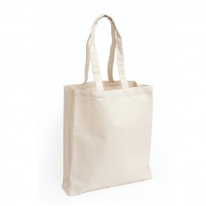 promotional 10oz cotton canvas bags with gusset BAT-CAN4