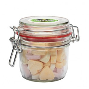 promotional 125ml glass jar with sweets IMC-C-0610