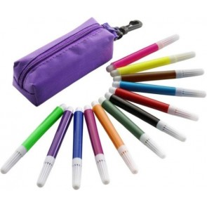 promotional 12pc felt tip pen sets IME-1105
