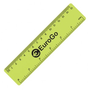 promotional 15cm pp colour rulers SEU-RU1500