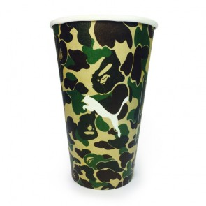promotional 16oz single walled paper cups AJP-CUP-16S