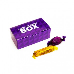 promotional 2 quality street box
