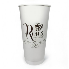 promotional 20oz double walled paper cups AJP-CUP-20DW