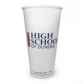 promotional 20oz single walled paper cups AJP-CUP-20S