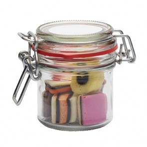 promotional 255ml glass jar with sweets IMC-C-0612