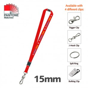 promotional 25mm lanyard woven PMT-ULAW24