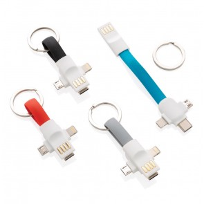 promotional 3 in 1 keychain cable XIN-P302.115