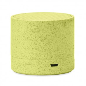 promotional 3w speaker in wheat straw/abs MOB-MO9995