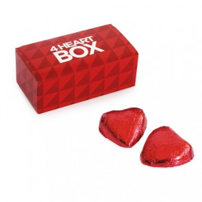 promotional 4 chocolate heart boxes BIT-M12264