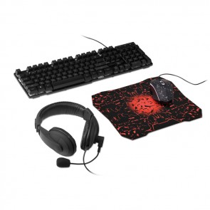 promotional 4 piece gaming accessory set MOB-MO9998