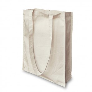 promotional 8oz cotton canvas bags with gusset BAT-PAX4