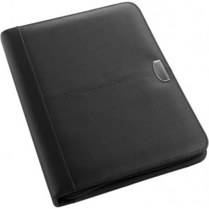 promotional a4 leather zipped folder sets IME-8617