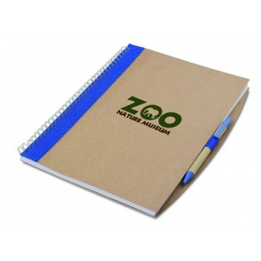 promotional a4 recycled notebooks with pen  MOB-MO7171
