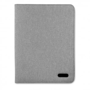 promotional a4 zip portfolio in polyesters MOB-MO9549