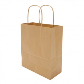 promotional a5 hardwick smooth kraft paper bags BAT-KRAS1