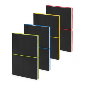 promotional a5 lined notepad elastic closure STR-53396