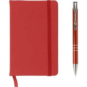 promotional a6 notebook and ballpen set  IME-3582