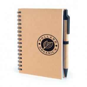 promotional a6 verno notepads with pen BHQ-QS0225