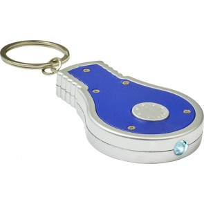 promotional abs bulb shaped key holder IME-8993
