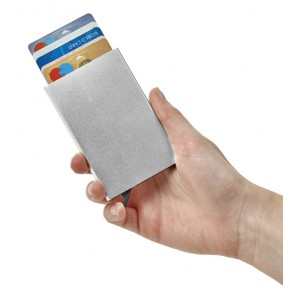 promotional aluminium card holder rfid IME-8184
