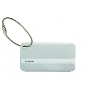 promotional aluminium luggage tags MOB-MO8352
