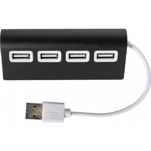 promotional aluminium usb hub with 4 ports IME-7737