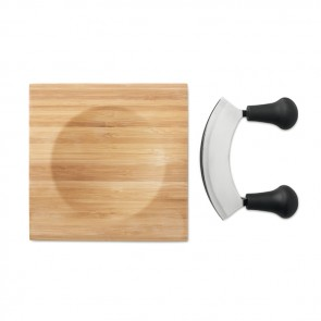 promotional ancona bamboo cheese cutter sets MOB-MO9414