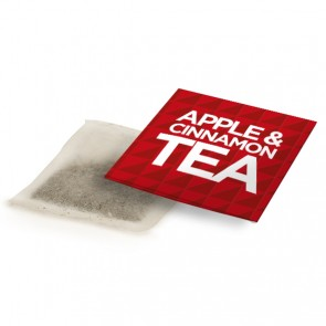 promotional apple & cinnamon tea bag envelopes BIT-M12727